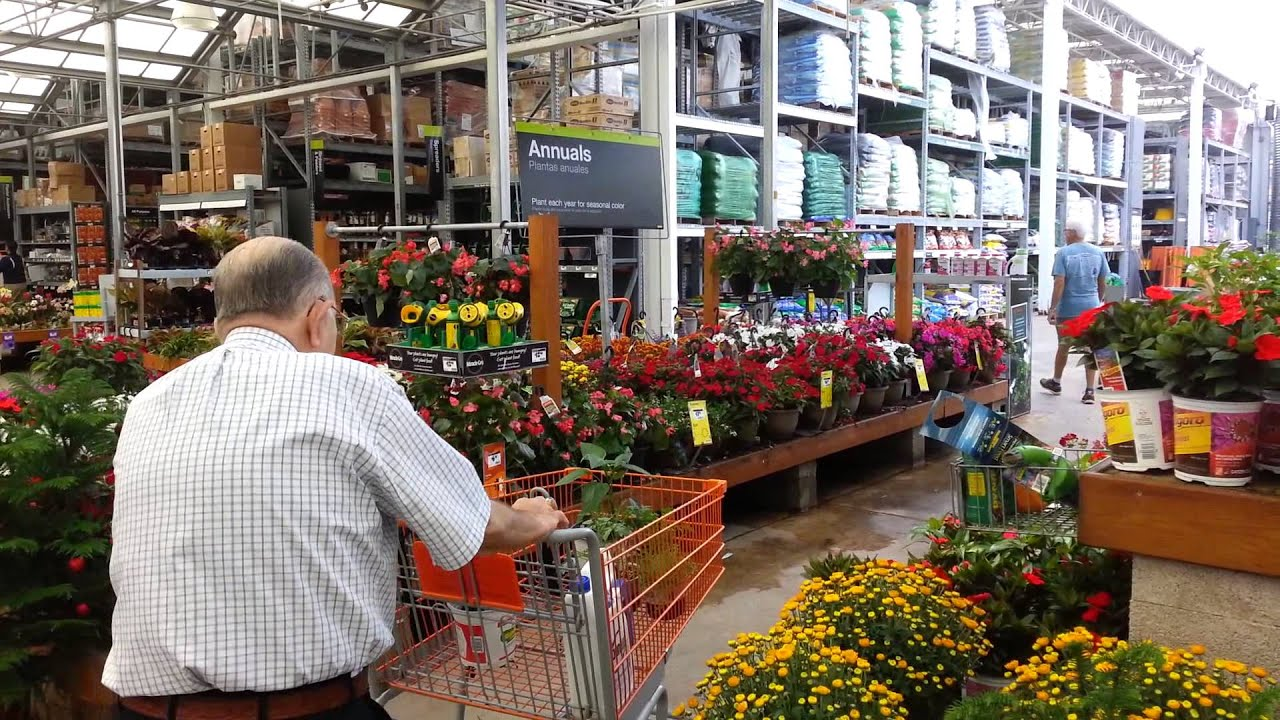 Spring shopping at Home Depot YouTube