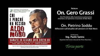 Convegno Uccisione Aldo Moro con Gero Grassi 3° parte