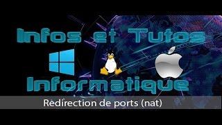 Redirection de ports (nat)