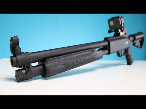 Stärkste legale SHOTGUN in Deutschland - Pumpgun T4E S68 REVIEW