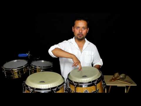 Salsa Timing Lesson by Alejandro Sol  the congas
