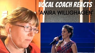 Vocal Coach Reacts to Amira Willighagen Live in Concert 'Amazing Grace'