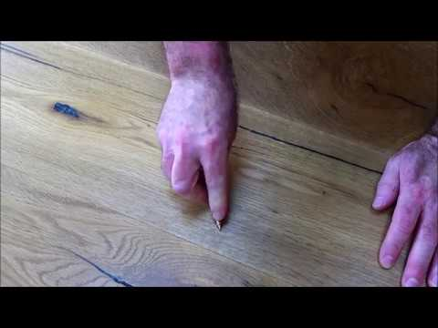 Easily Fix Scratched Wooden Floor Youtube