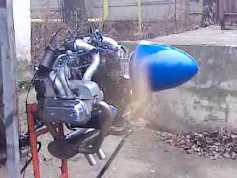 vw  aircraft engine youtube