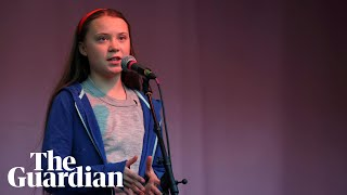 Greta Thunberg joins London climate protest: 'We will never stop fighting'
