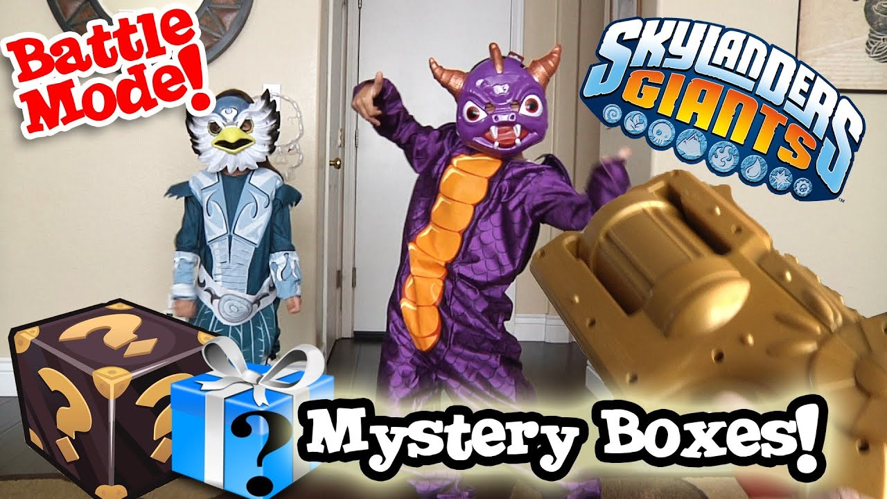 Uncategorized Are Skylanders Real mystery boxes from activision skylanders costumes real life battle mode youtube