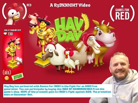 Hay Day Live - R3DKNIGHT is RED in the Fight Against AIDS/HIV