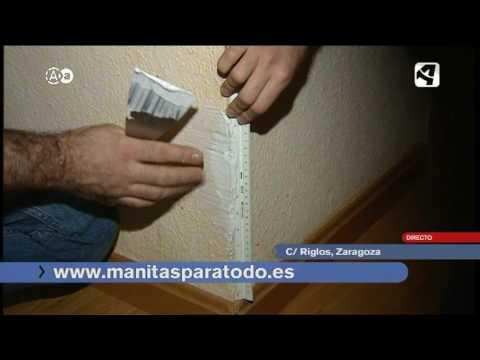 Arreglar esquina de pared youtube for Esquineras de pared
