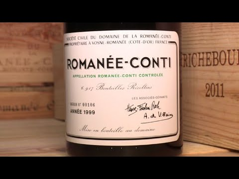 Private collection of Romanee-Conti wine on sale in Geneva