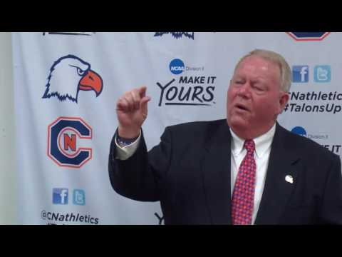 Carson-Newman Football: Mike Turner meets the team for the first time as head coach 11-15-16