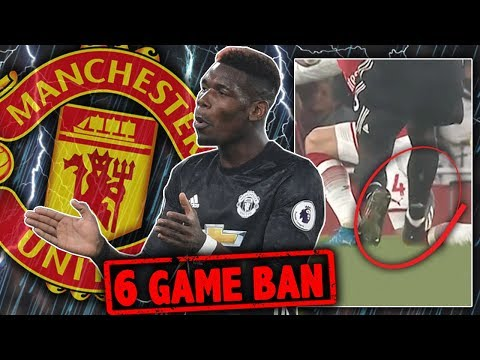 BREAKING: Paul Pogba To Be BANNED Until 2018! | W&L