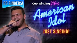 Hollywood Week Part 3 - 13 Group Performances: Just Singing! - American Idol 2015 - Season 14
