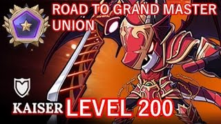 LEVEL 200 KAISER! (MapleStory Road to Grand Master Union Ep.14)