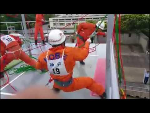 【神業】一人前の消防士になるには過酷な訓練が!凄すぎる消防士たち 神戸市消防局 A Japanese fireman's