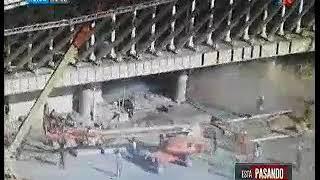 Video: Así fue el derrumbe del aeropuerto: un muerto y 13 heridos