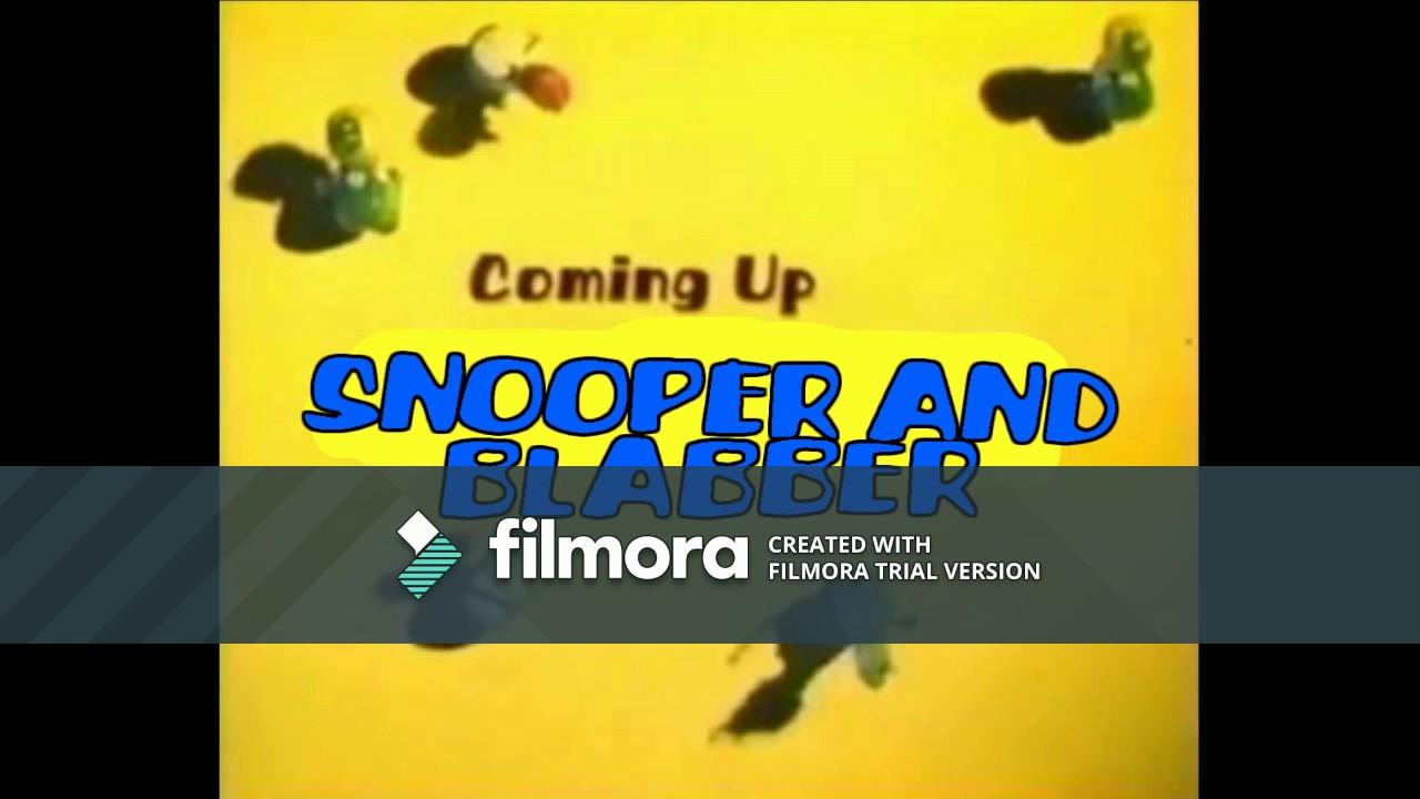 "(FAN-MADE) Boomerang: Snooper & Blabber ""Coming Up Next"