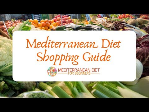 Mediterranean Diet Shopping Guide Recipes and Grocery List