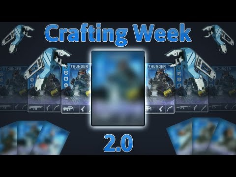 Dirty Bomb - Crafting Week 2.0