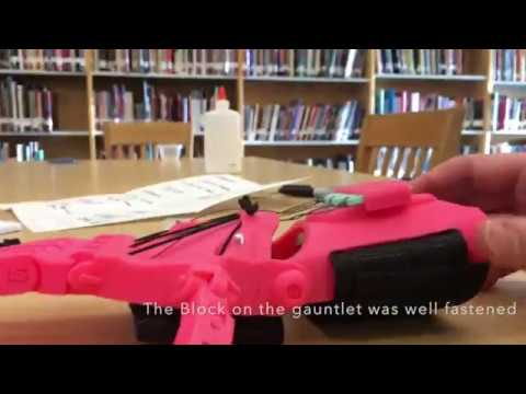 Kent Middle School Prosthetic Hand Approval Video