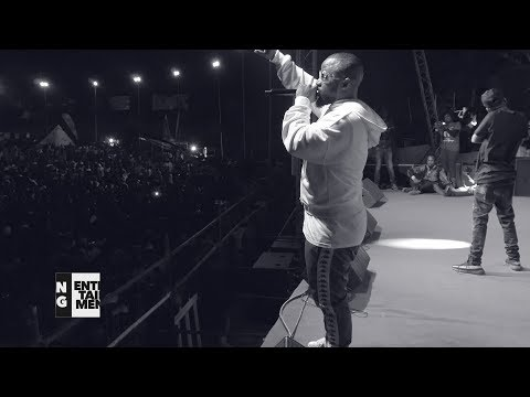 Cassper Nyovest in Harare, Zimbabwe. Tito mboweni performance - Urban Scoop Africa (2017)