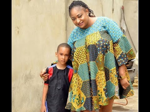See How Ronke OshodiOke Celebrate her Handsome Son Birthday