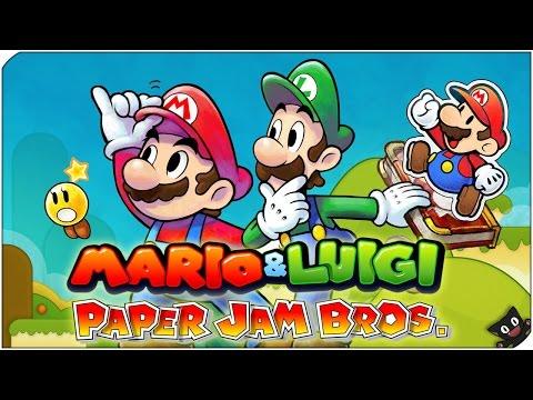 El poder del cartón!! | 06 | Mario & Luigi Paper Jam Bros (Nintendo 3DS)