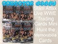 Slam Attax Live WWE Topps Trading cards Mini Hunt for the memorabilia card