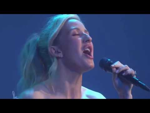 Ellie Goulding Performing Love Me Like You Do At New Range Rover Velar Launch