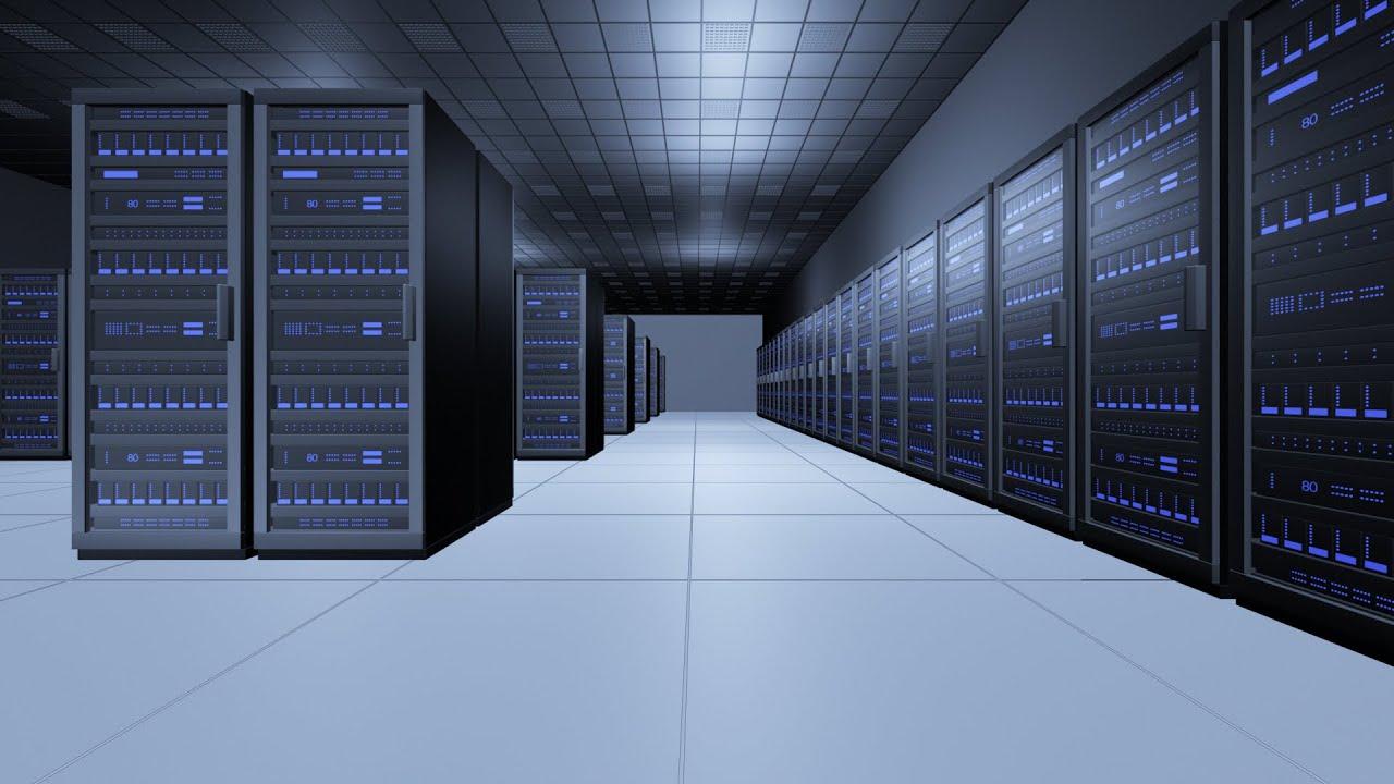 Server Room Animation  Computer Server  YouTube