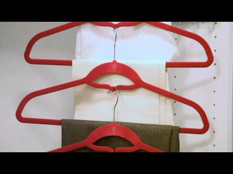 Jill Martin 60-Piece Hanger Set w/ Favorite Dress Jewelry Organizer on QVC