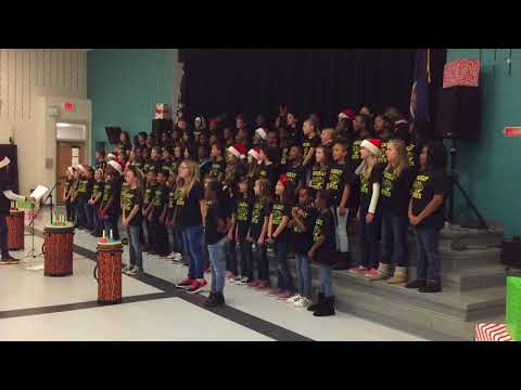 Widewater Elementary School Chorus 2017 - Here comes the snow