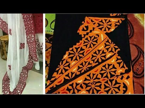 d590bf179e4 Latest Aplic Dress Designs 2018 Aplic Work Tutorial  Dupatta Designing