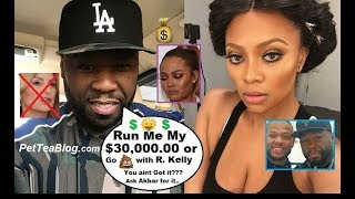 50 Cent Clowns Teairra Mari for Losing Lawsuit, Taking $9k Out Bank While Owing $30k to him 💰