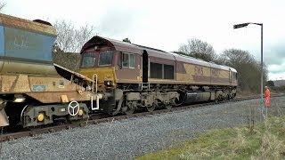 66037 Rare Ballast Train up to GCG 05/03/2014
