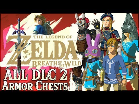 ALL 9 ARMOR EX Chest Locations From DLC Pack 2! Ganon, Zant, Ravio, Wind Waker, & More!