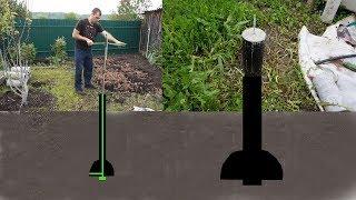 видео Как построить террасу на сваях самостоятельно?