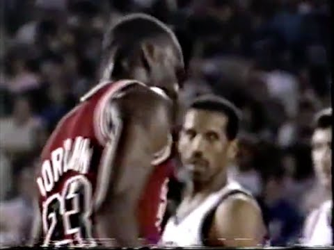 Michael Jordan Defense on Adrian Dantley - 1988 NBA ECSF