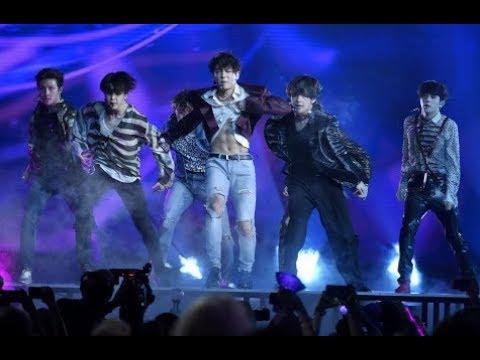 BTS Performs Fake Love at Billboard Music Awards 2018 + Wins Top Social Artist [Behind Camera]