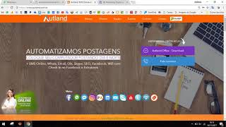 Autland Web, extensão para o Chrome, Bot Facebook, Facebook Extenção,