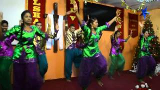 El-Shaddai Ministries Singapore - Christmas Celebration Dance by ERC Youths Melody of Songs