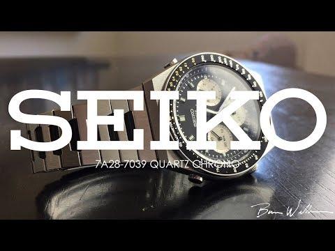 Seiko 7A28 - One of Seiko