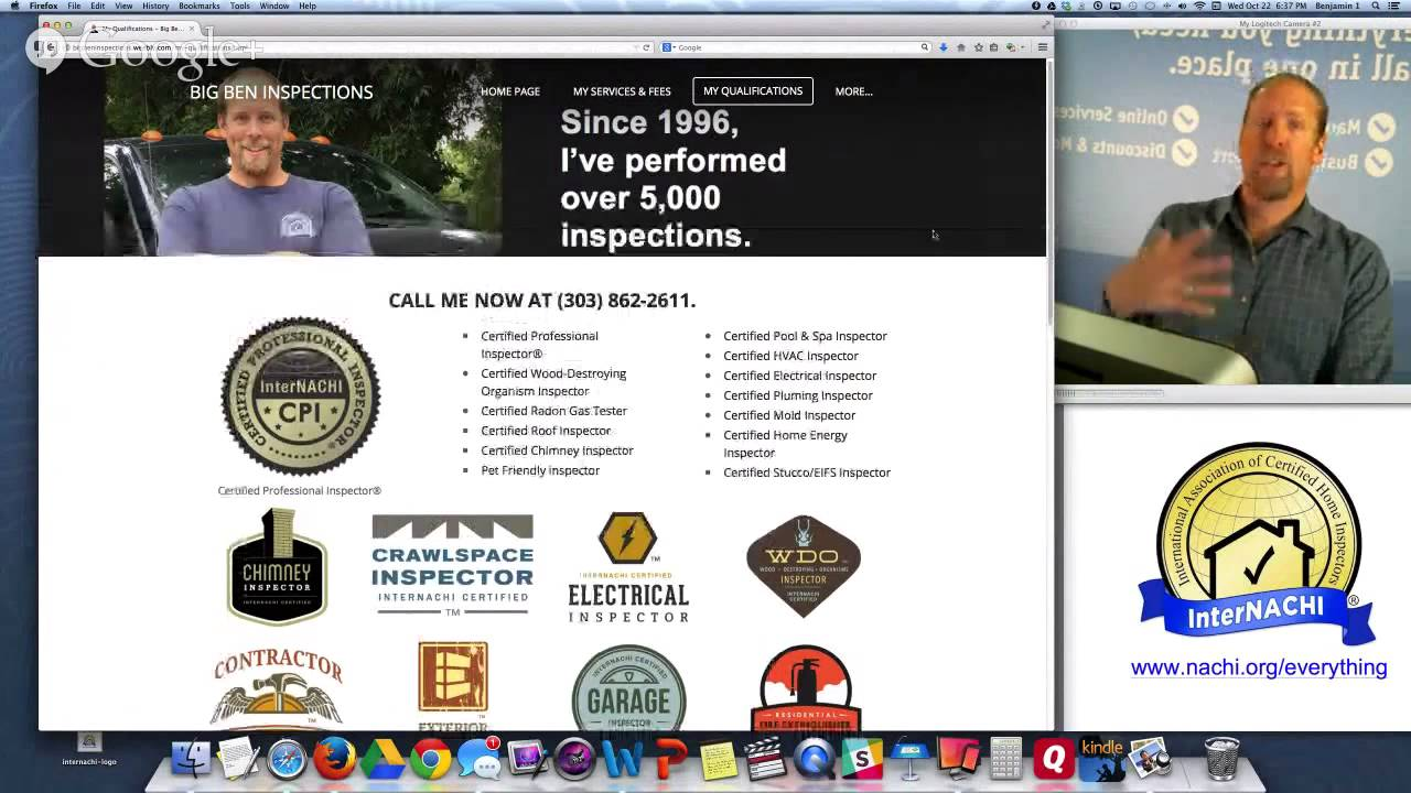 How to Build a Free Inspection Business Website