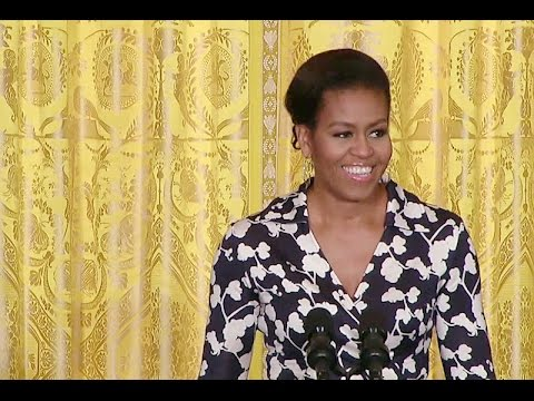 """The First Lady announces the """"Better Make Room"""" Initiative"""