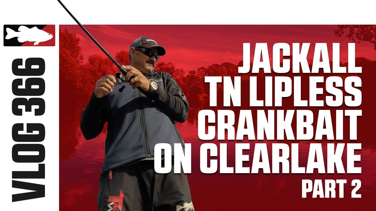 Jared Lintner & Alex Davis Fising the Jackall TN Lipless Crankbait on Clear Lake - TW VLOG #366