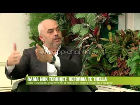 Rama nuk tërhiqet: Reforma të thella - Top Channel Albania - News - Lajme