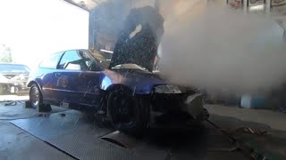 The Monster hatch on the Dyno a Crx Update and some good old 2jz Fuel Plumbing