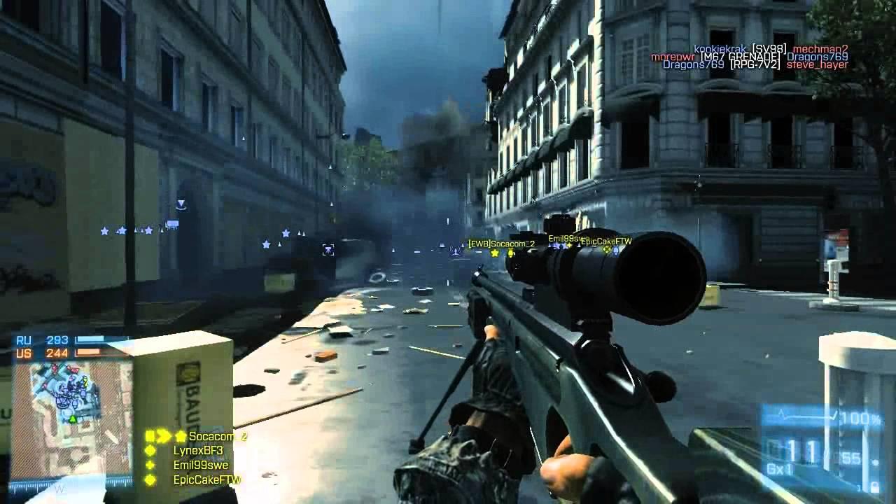 AMD Radeon HD 6450 Battlefield 3 Ultra Settings
