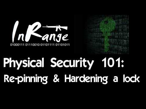 Physical Security 101: Repinning a Lock