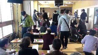 劇映画「渡されたバトン」~さよなら原発~ が新潟市西蒲区 旧巻町で撮...