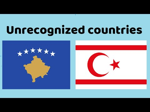 Flags of Unrecognized States (Non-Members of the United Nations)